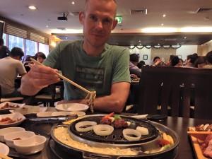 Koreaanse BBQ - bakplaat