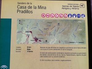 Bergwandeling Casa de la Mina Paradilos