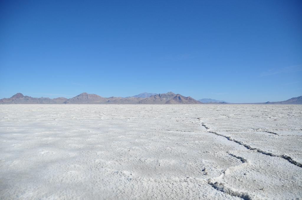 Dag 3: Bonneville Salt Flats en Uinta National Forrest