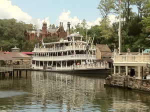 Bootje varen in Magic Kingdom