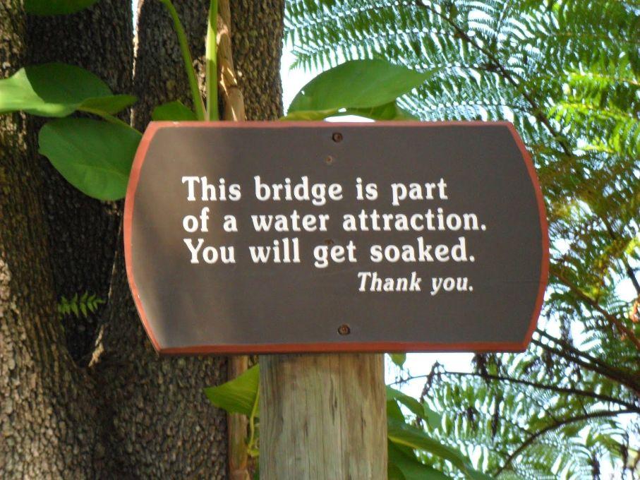 Busch Gardens waarschuwing