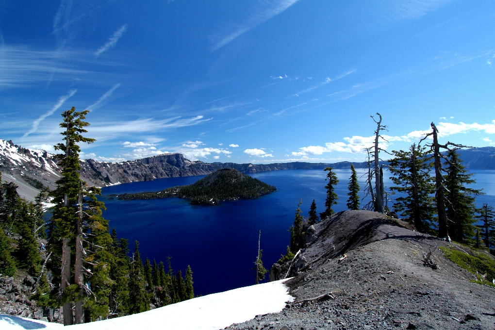 Dag 15: Crater Lake National Park en watervallen