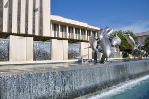 Fontein bij Florida State Capitol