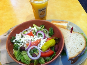 Greek Salad - Panera Bread