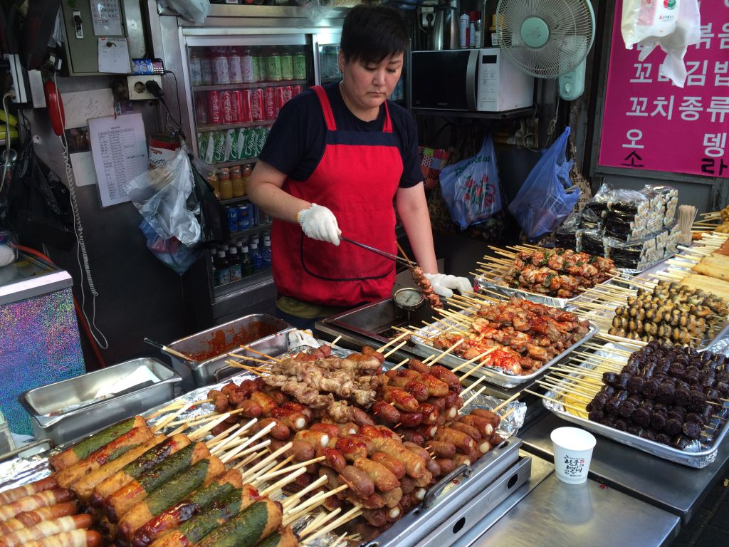 Streetfood in Seoul