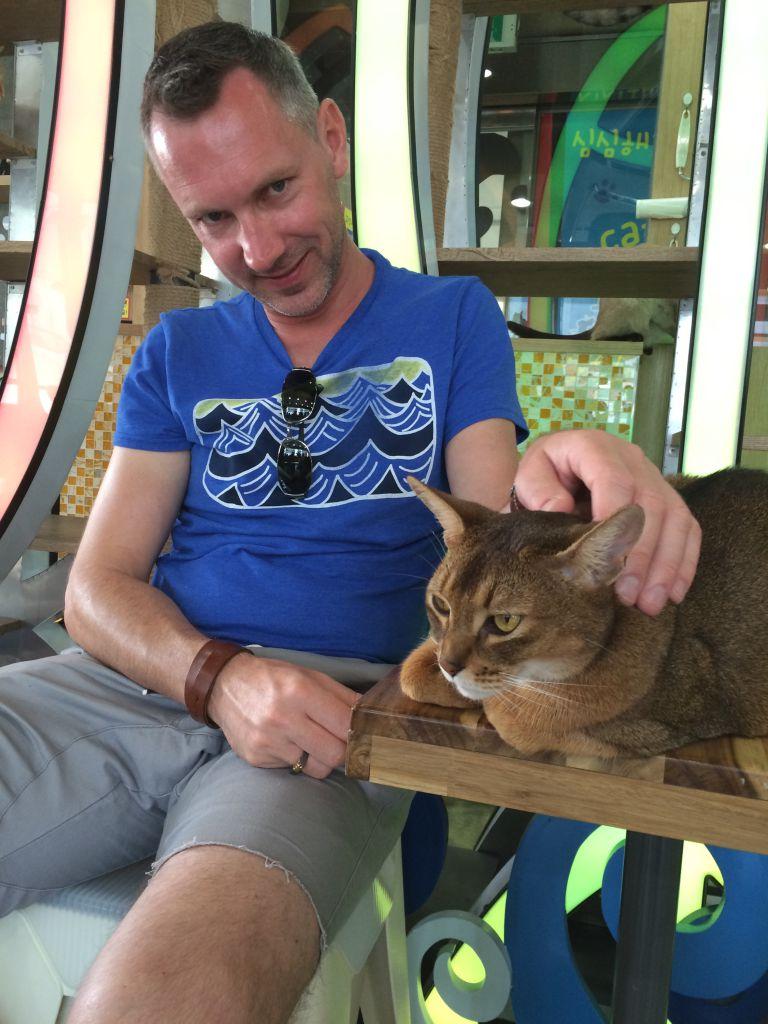 Majkel in Cat's Attick