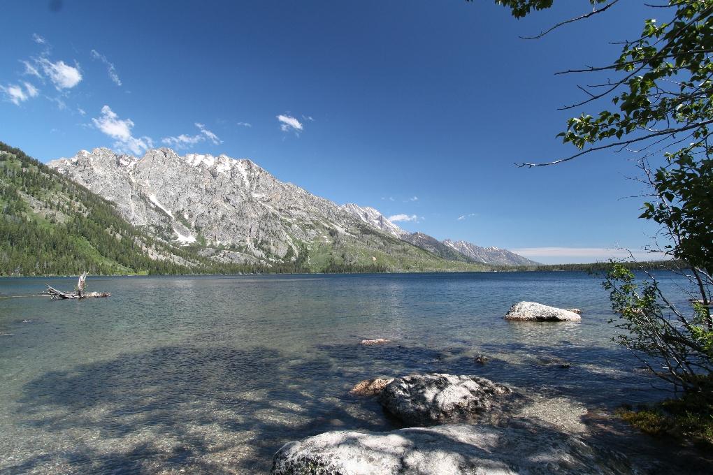 Dag 5: Wandeling rond Jenny Lake
