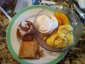 Ontbijtbuffet bij Sizzlers'