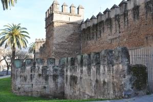 Oude stadsmuur van Sevilla