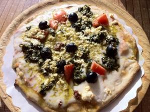 Pizza op Alameda de Hercules