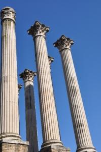 Romeinse pilaren in Cordoba